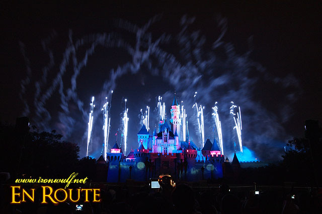 Disney Castle Blue Smoke