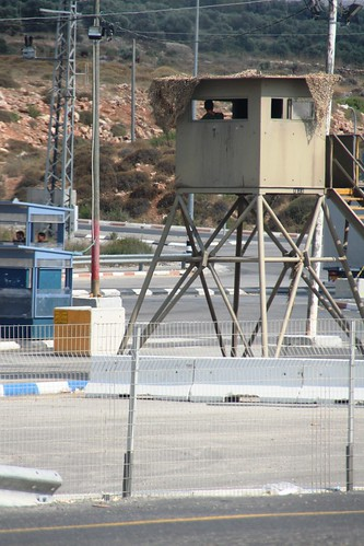 checkpoint westbank