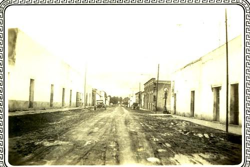 street in mexico city, circa 1934