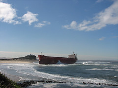 Pasha Bulker (leeshpix) Tags: newcastle stacey flood nobbysbeach beachedship pashabulker