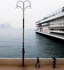 Hong Kong Harbourfront (Os Sutrisno) Tags: hk hongkong harbour harbourfront myfacebook