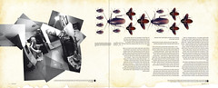 """High & Low"" double spread - ""failure"" 2 (Yaronimus Maximus) Tags: portrait me leather ink magazine paper typography design graphicdesign israel high scary funny skin tide low creative dream nightmare calligraphy hebrew cockroaches typo  ohno roaches  yaronimus  hebrewtypography israelgraphicdesign"