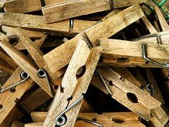 clothespins (Schmutzie) Tags: colour clothespins