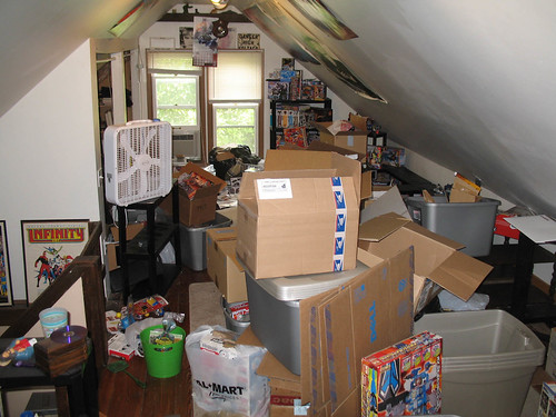 Tackling the Attic of Love:  A disaster