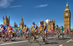 Le Tour comes to Town! (graspnext) Tags: london tourdefrance hdr letour