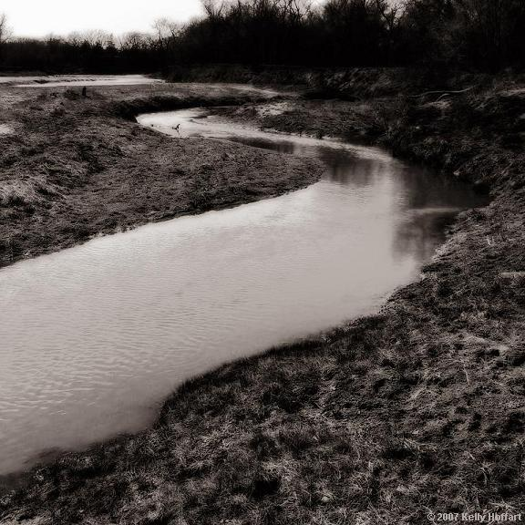 The Little Blue River
