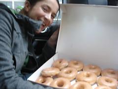 Krispy Kreme stake out11
