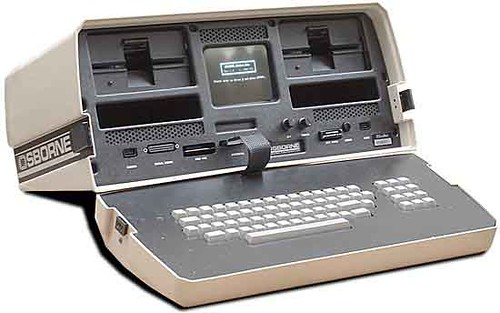 Один из первых ноутбуков