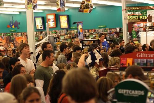 bookstore mob