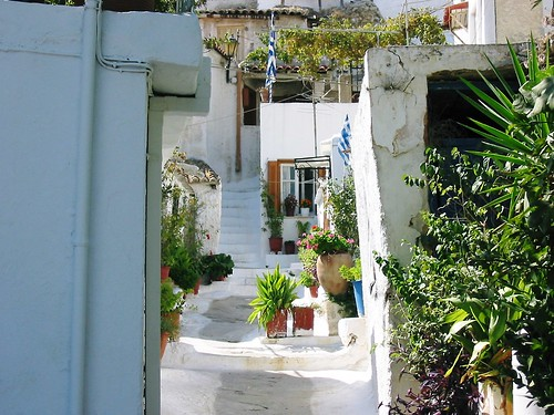 Athens, Greece - a house in the Plaka - a favourite