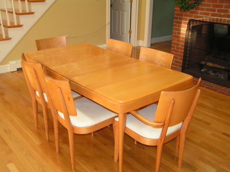 Craigslist Boston Find: Heywood Wakefield Dining Room