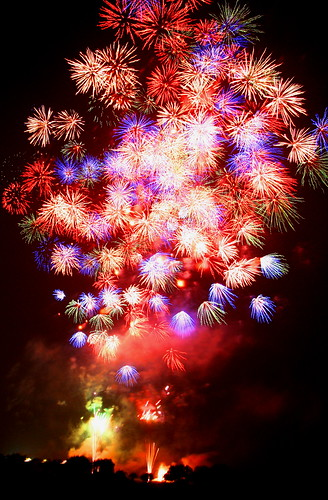 A display of Fireworks 2007