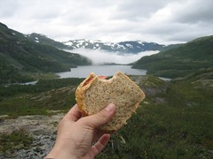 Lunch (jerdwashere) Tags: norway flam finse