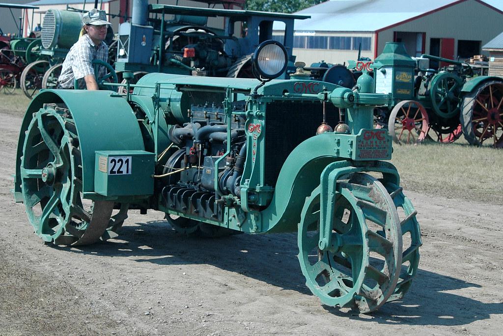 GMC Samson Sieve-Grip tractor