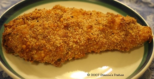 Parmesan Encrusted Chicken Fingers
