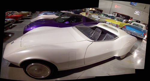 Autostitch shot of the Astro Vette concept car...