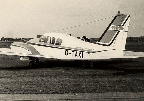 PA-23 G-TAXI St Athan 150979