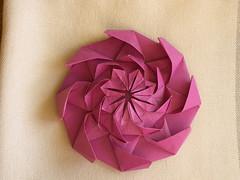 Flower Tower - Var-2 (soma0213) Tags: origami tessellation chrispalmer flowertower