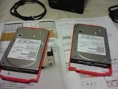 HDT725032VLA360 (320G SATA300 7200) x2