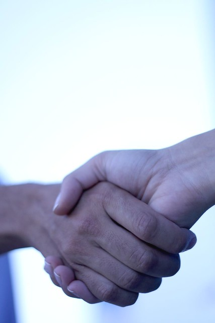 picture of handshake