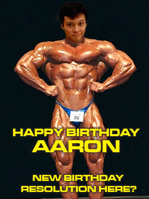 happy birthday aaron
