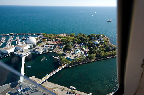 Ontario Place from the air