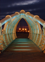 Foot bridge at Princess dock (Mr Grimesdale) Tags: liverpool sony merseyside capitalofculture rivermersey mrgrimsdale stevewallace capitalofculture2008 liverpoolcapitalofculture2008 dsch2 princessdock europeancapitalofculture2008 photofaceoffwinner liverpoolcapitalofculture pfosilver mrgrimesdale grimesdale