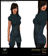 [MG fashion] Jersey Girl (blue)