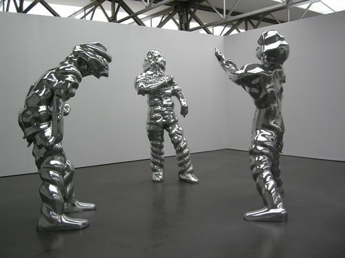 Drei Grosse Geister by Bart van Damme