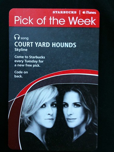 Starbucks iTunes Pick of the Week - Court Yard Hounds - Skyline #fb