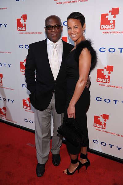 LA and Erica Reid at the DKMS Linked Against Leukemia Gala by dkmsamericas