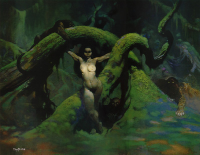 frazetta-cat-girl 1