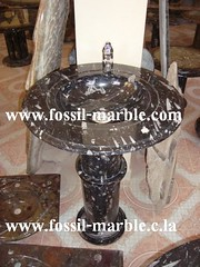 sinks tables crafts fossilized marble morocco rissani marrakech (crafts fossilized marble tables sinks) Tags: crafts morocco tables marrakech marble sinks fossilized rissani