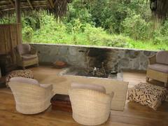 El Monte Lodge fireplace
