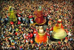 La Patum 93 - Gegants (Pep Companyó - Barraló) Tags: barcelona catalunya popular festa corpus sant pere 2010 berga plaça dijous foc bergueda gegants josep patrimoni patum humanitat companyo inmaterial barralo
