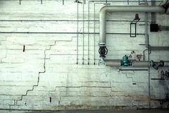 Lines (Regina J.) Tags: vienna wien building lines wall austria sterreich nikon closed pipes tubes rail disused arsenal d300s nikond300s tamronspdiii1750mmf28 objekt210 railtecarsenal readytodemolish beforeindustrialdemolotion