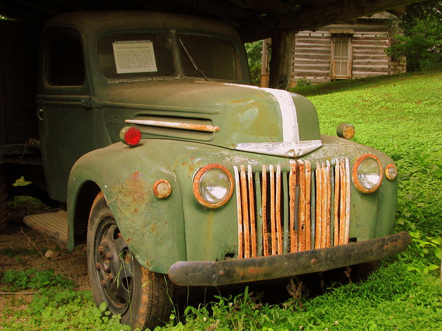 1946 Ford Truck at Falls Mill