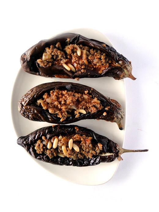 Sheikh el mehshi - Lebanese stuffed eggplants