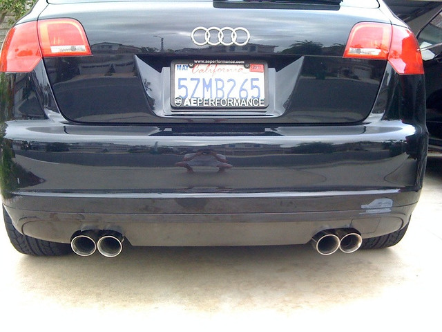 Pics: Audi A3 Exhaust At Woreks.co