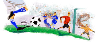 Google World Cup Logo