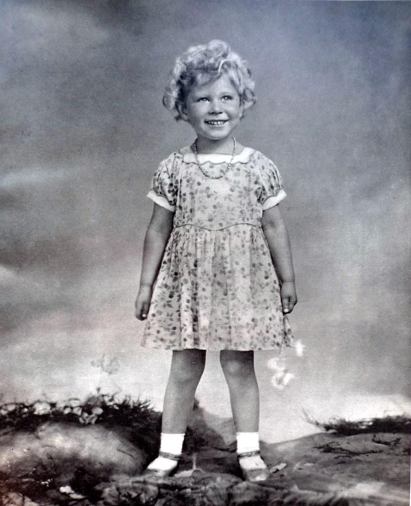 Princess Elizabeth aged 3