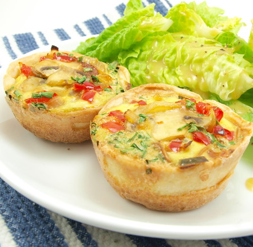 Mini-Veggie Quiche
