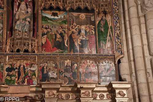 Iglesia de Santa María la Blanca, Villalcázar de Sirga, Palencia