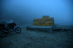 Rohtang La @ 13050 Ft (~FreeBirD~) Tags: life travel india mist rain weather fog danger death la hp nikon asia heaven d70 faith traveller passion trust biker companion wowie manali rohtangpass challenge challenger himachalpradesh rohtang cbz herohonda mountainbiker zerovisibility 13050 kazowie nikonstunninggallery lovemax manibabbar maniya biketraveller deadzero httpbirdofpreyspaceslivecom httplamenblogspotcom