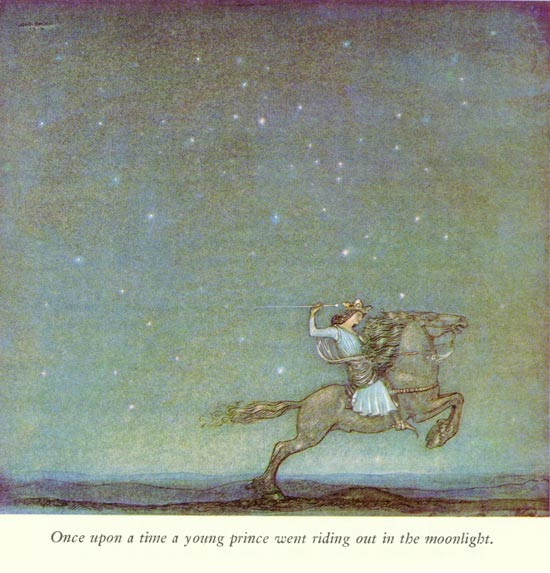 The Ring: Prince riding moon