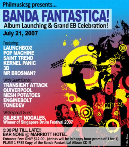 Banda Fantastica Poster