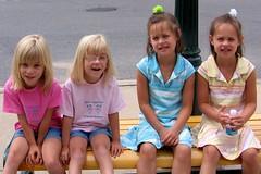 Syd, Linds, Selina & Carla