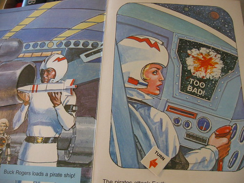 buck rogers pop-up book