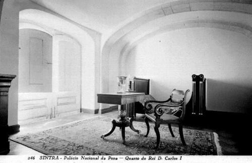 Aposentos do Rei D. Carlos no Palácio Nacional da Pena