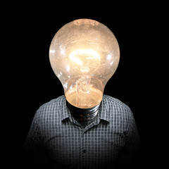 Just Full Of Ideas (Cayusa) Tags: portrait selfportrait lightbulb bulb photoshop self idea bart 365 ideas day213 365days interestingness19 explored i500 25faves mywinners 365explored spittinshells explore01aug07 daytwohundredandthirteen 365213 365day213